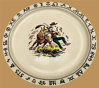 Rodeo Round Serving Platter, 14""