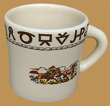 Rodeo Texas Mug, 13 oz.