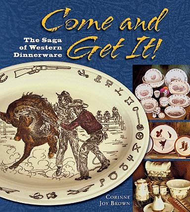Come and Get It! Western Dinnerware- book