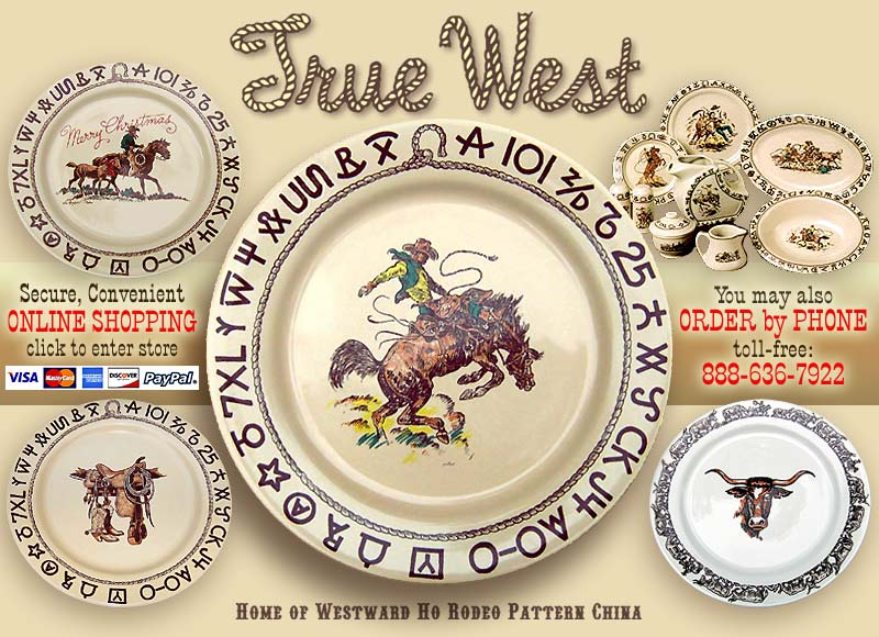 Western Dinnerware by True West