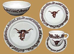 Longhorn Pattern 5 pc. Place Setting