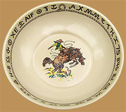 RD12 Rodeo Pattern Bonanza Bowl