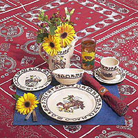 RD00 Rodeo Pattern Place Setting